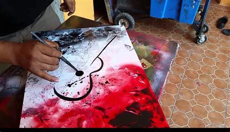 spray paint art stencils template business
