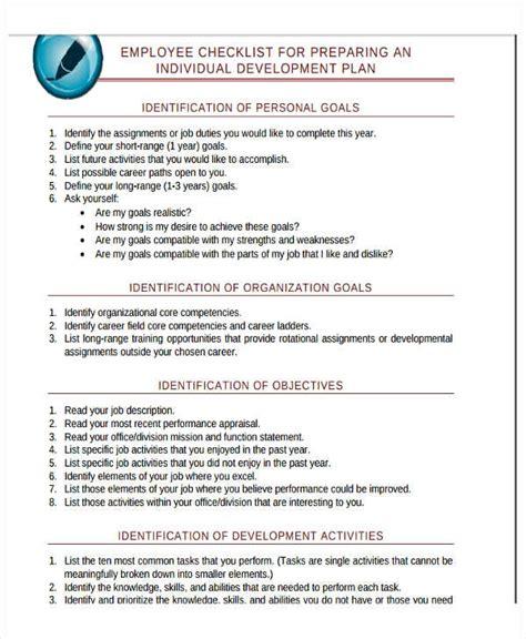 development plan templates  word