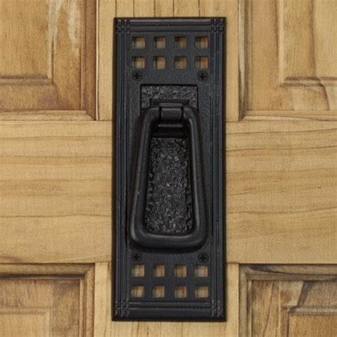 iron shelf mission iron door knocker for the home