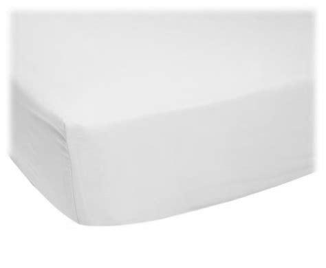 organic white jersey knit youth bed sheet organic sheets
