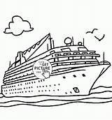 Ship Coloring Cruise Transportation Boat Aida Printables Schiffe Drawing Printable Drawings Schiff Disney Ausmalen Princess Ausmalbilder sketch template