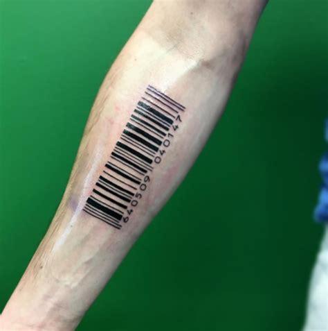 scannable barcode tattoos tattoo ideas artists  models