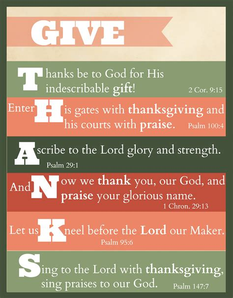 """Did yours make the list? Free Printable: """"Give Thanks"""" Thanksgiving Scripture Art - The Purposeful Mom"""