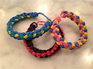 Double Braid Rainbow Loom Bracelet- Advanced