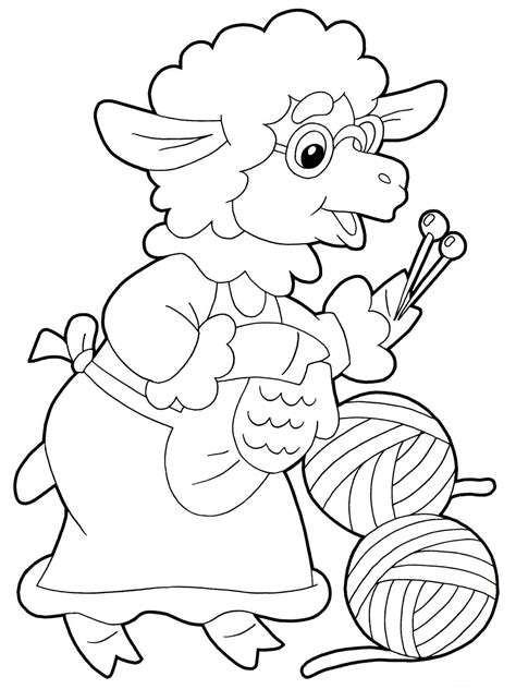 Coloring Pages To Print by Sheep Coloring Pages To Print Year Of Sheep 2015