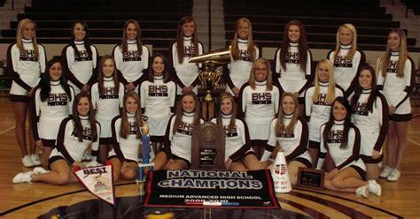benton school district bhs cheerleaders benton school district