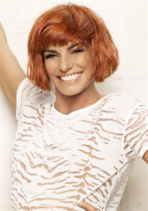 coiffure carre roux modele coupe de cheveux