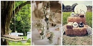 Déco Mariage Champetre : id e d co mariage boh me style champ tre le blog de ~ Melissatoandfro.com Idées de Décoration