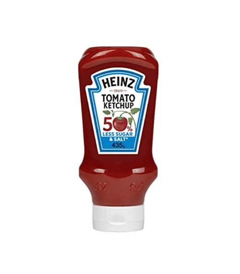 Heinz Tomato Ketchup 50% Less Salt & Sugar 435G – Sadda Online