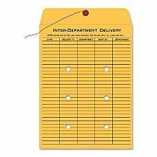 interdepartmental envelopes at office depot officemax With interoffice mail envelope template