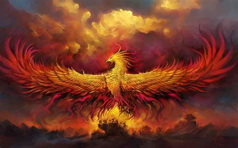 wallpaper alar phoenix god phoenix world  warcraft