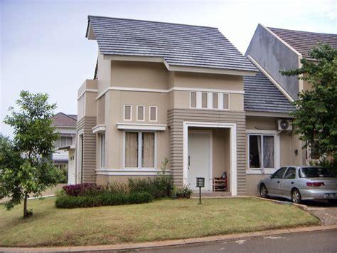 kombinasi warna cat rumah coklat kumpulan desain rumah