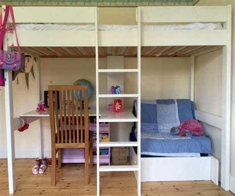 wood bunk bed with desk furniture white wood bunk bed with pink desk and shelves