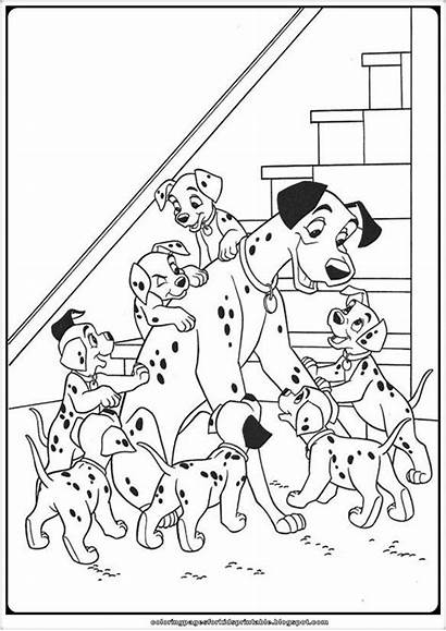 Coloring 101 Dalmatians Pages Printable Games