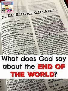2 Thessalonians Lesson For Kids