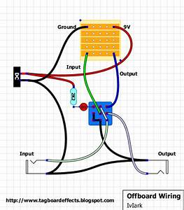 Guitar Pedal Switch Wiring Diagrams