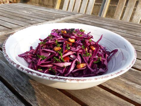 comment cuisiner du chou salade de chou et graines 1 2 3 veggie