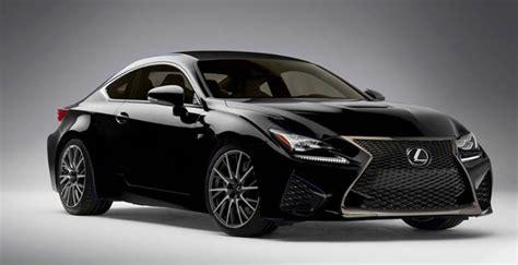 Lexus Rc F In Black