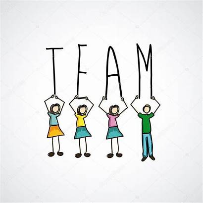 Teamwork Squadra Lavoro Progettazione Gray Icons Grgroupstock