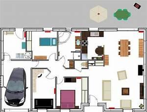 dessin plan de maison With dessin plan de maison