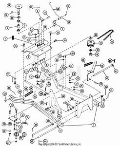 Gravely 35789 36 U0026quot  Snow Blower 1100 Tractor 1200 Tractor Parts Diagram For Carriage Assembly