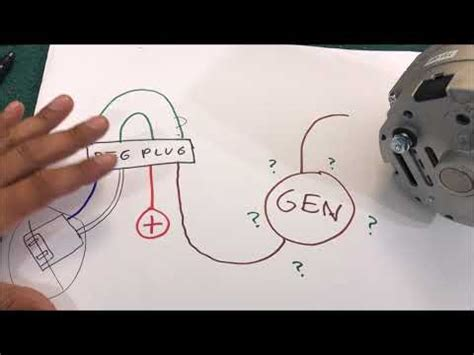 gm  wire alternator conversion wiring diagram cable