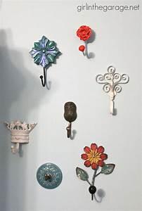 Decorative Wall Hooks as Jewelry Storage