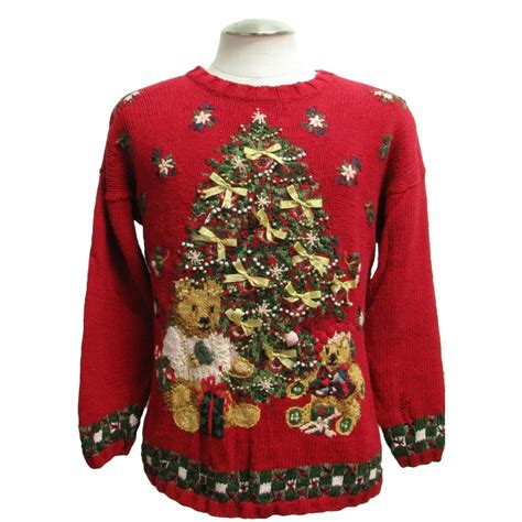 terribly tacky gallery ugly christmas sweater by fashion bug