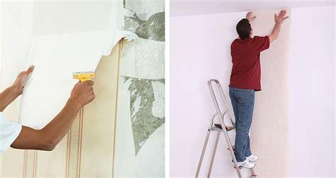 papierpeint9 poser papier peint sur peinture