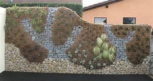 mur en gabion With escalier exterieur metallique leroy merlin 15 mur en gabion