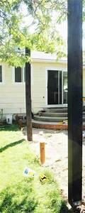 Construire Sa Pergola : fabriquer une pergola en bois comment installer des poteaux pour votre pegola de terrasse ~ Dode.kayakingforconservation.com Idées de Décoration