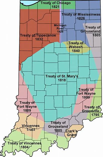 Indiana Indian Treaties Native Treaty American Svg