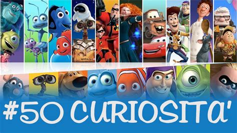 curiosita sui film disney  pixar youtube