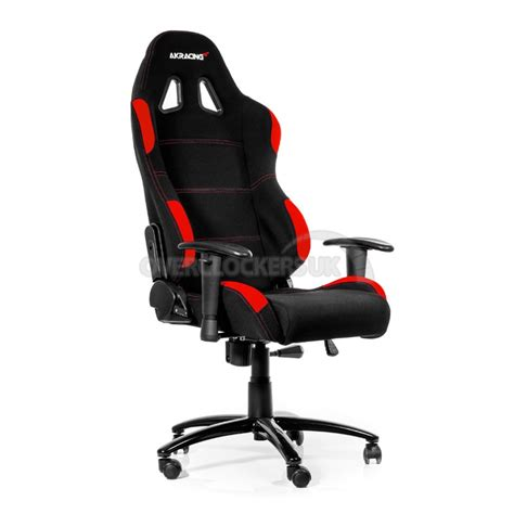 chaise gamer pc ak racing gaming chair black ocuk