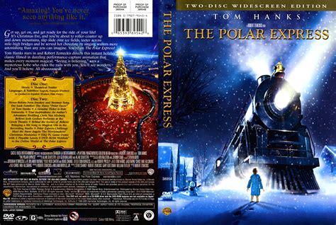 The Polar Express 2004 Ws Ce R1 Cartoon Dvd Cd Label