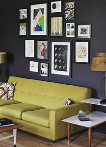 Gallery, Wall, In, 30, Contemporary, Living, Room, Designs