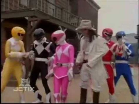 mighty morphin power rangers west rangers morph