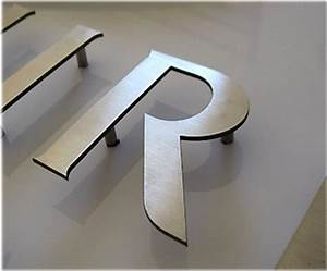 signage 3d sign lettering led signs With cut out letters signage