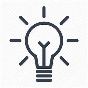 Eureka, idea, lamp, light bulb icon   Icon search engine