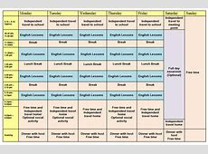GE25 example timetable IH Manachester