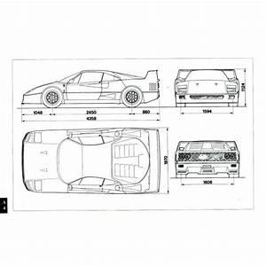 Beautifully Engineered  U2014 Ferrari F40 Owner U2019s Manual