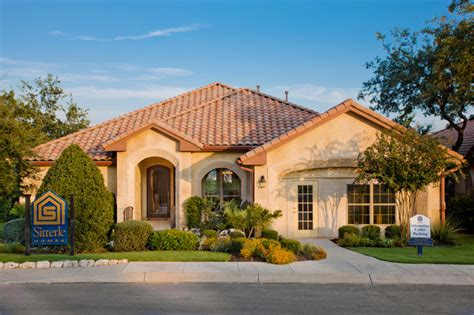 Model Home In Point Bluff (rogers Ranch) Mediterranean