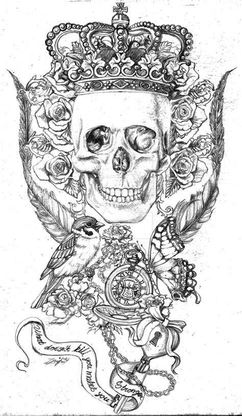 tattoo sketch  yankeestyle  deviantart