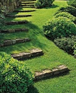 Gartengestaltung Mit Steinen : kreative gartengestaltung mit diy gartentreppe mit steinen und gras freshouse ~ Watch28wear.com Haus und Dekorationen