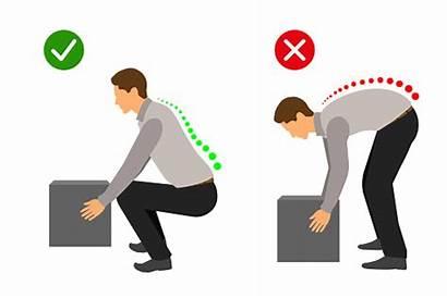 Lifting Heavy Lift Correct Posture Manual Handling