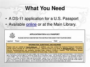 ready set travel apply for a passport at the library With what documents do i need for a passport