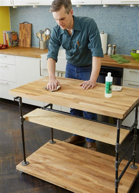 How To Build A Butcherblock Island  This Old House