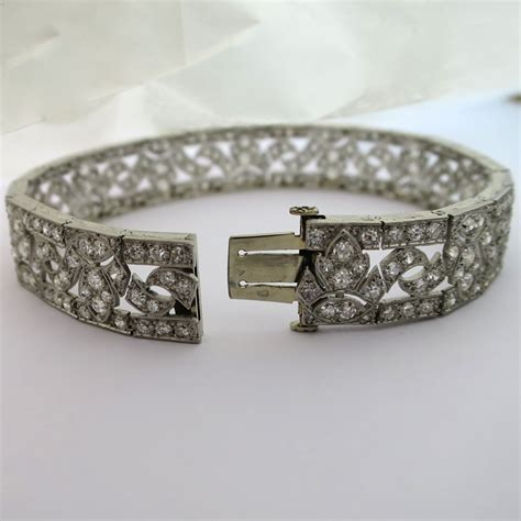 bijoux deco anciens bracelet diamant deco