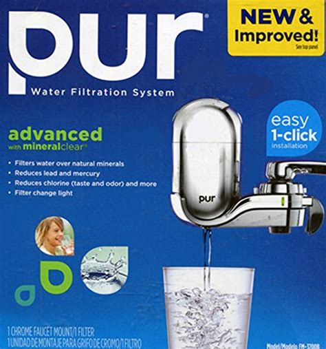 Pur Advanced Faucet Water Filter by Pur Advanced Faucet Water Filter Chrome Fm 3700b Pur