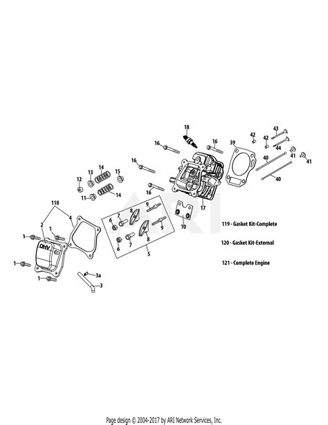 Mtd Engine Parts Diagram For Cylinder Head